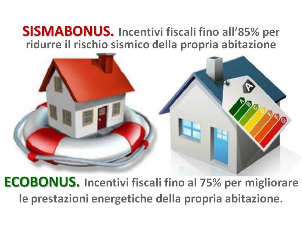 Nuovo sisma bonus detrazione d imposta sino all 85 for Scadenzario fiscale 2017